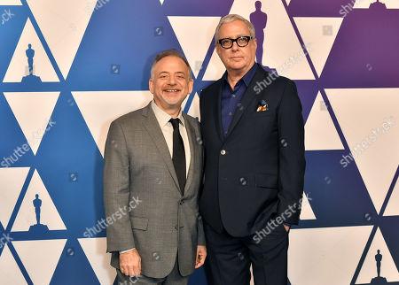 Stock Picture of Marc Shaiman and Scott Wittman