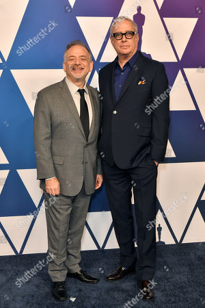Stock Photo of Marc Shaiman and Scott Wittman