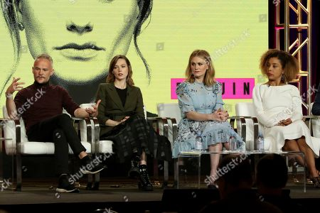 Oliver Lansley, Lydia Wilson, Anna Paquin, Sophie Okonedo. Oliver Lansley, from left, Lydia Wilson, Anna Paquin and Sophie Okonedo