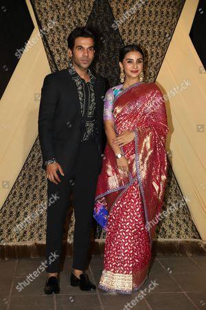 Bollywood actor Rajkummar Rao with Patralekhaa