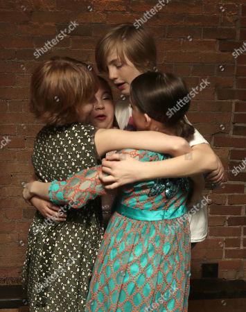 Bella Higginbotham, Johanna Colon, Charlie Shotwell and Mckenna Grace