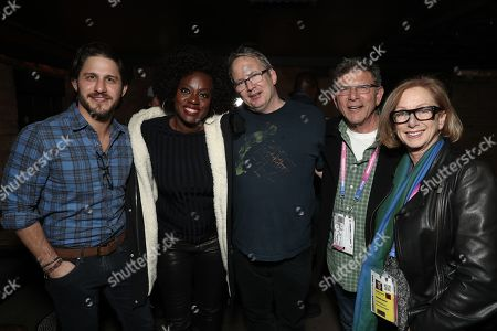 Franklin Latt, Filmmaker Viola Davis, Amazon Studios Head of Motion Picture Production Ted Hope, David Latt and Founding Director, Sundance Feature Film Program Michelle Satter