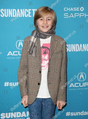 Charlie Shotwell arrives for the premiere of the film 'Troop Zero' at the 2019 Sundance Film Festival in Park City, Utah, USA, 01 February 2019. The festival runs from 24 January to 02 February 2019.