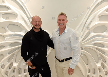 Rubem Robierb and Sam Champion.