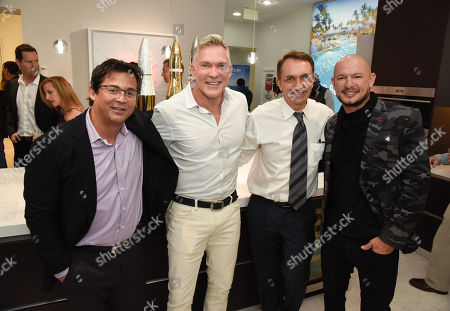 Editorial photo of Sam Champion and Rubem Robierb Art Exhibition, Fort Lauderdale, USA - 01 Feb 2019