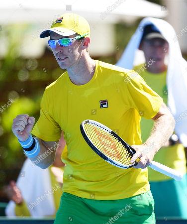 Editorial picture of Davis Cup - Australia vs Bosnia and Herzegovina, Adelaide - 02 Feb 2019