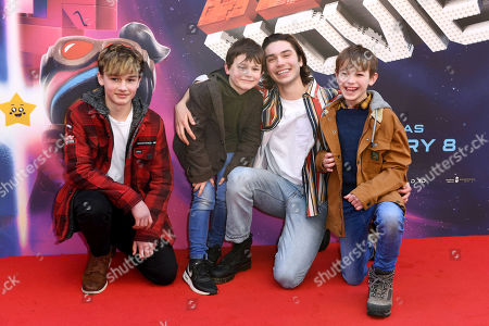 George Shelley and his brothers