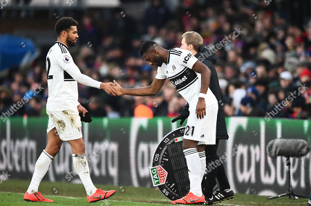 Timothy Fosu Mensah of Fulham replaces Cyrus Christie of Fulham