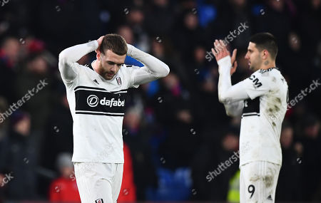 Full time dejection for Calum Chambers of Fulham
