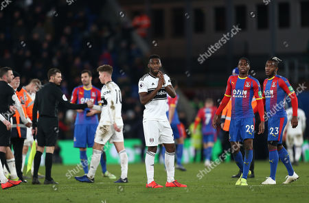 Timothy Fosu-Mensah of Fulham applauds the fans