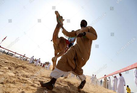 Editorial image of Sultan Heritage Festival in Sweihan, Al Ain, United Arab Emirates - 02 Feb 2019