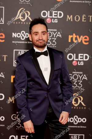 Juan Antonio Bayona poses at the red carpet of the 33rd Goya Awards, celebrated at the Conference Centre, in Seville, southern Spain, 02 February 2019. The awards are presented by the Spanish Film Academy.