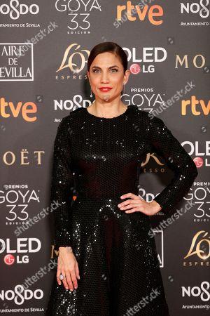 Editorial photo of 33rd Goya Awards in Seville, Spain - 02 Feb 2019