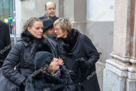 Editorial image of Funeral service for Maya of Schoenburg-Glauchau, St. Anna's Ladies' Cathedral,, Munich, Germany - 02 Feb 2019