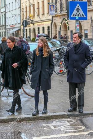 Richard Waldburg with wife Cynthia and daughter Mafalda