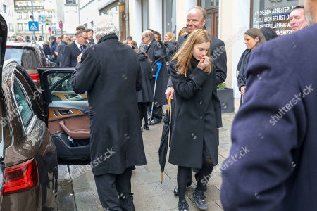 Editorial photo of Funeral service for Maya of Schoenburg-Glauchau, St. Anna's Ladies' Cathedral,, Munich, Germany - 02 Feb 2019