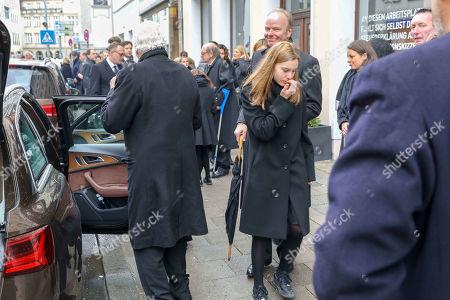 Stock Photo of Friedrich Christian Flick, Princess Elisabeth of Auersperg-Breunner, Carlotta Hipp and Stefan Hipp
