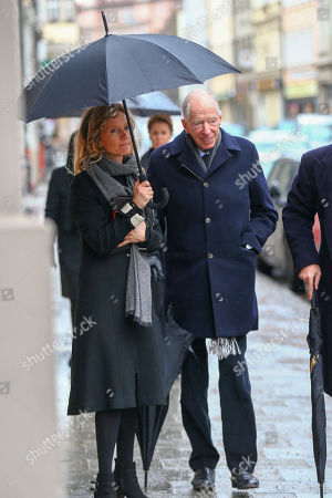 Editorial picture of Funeral service for Maya of Schoenburg-Glauchau, St. Anna's Ladies' Cathedral,, Munich, Germany - 02 Feb 2019