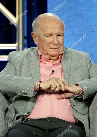 Terrence McNally participates in the American Masters Series 'Terrence McNally: Every Act of Life' panel during the PBS presentation at the Television Critics Association Winter Press Tour at The Langham Huntington, in Pasadena, Calif
