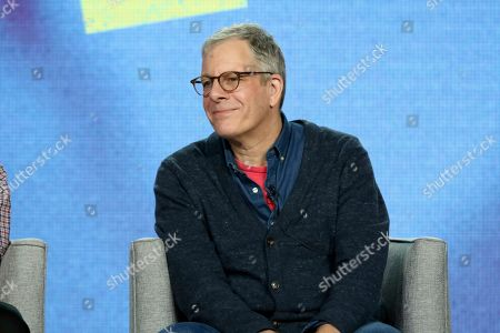 Jeff Kaufman participates in the American Masters Series 'Terrence McNAlly: Every Act of Life' panel during the PBS presentation at the Television Critics Association Winter Press Tour at The Langham Huntington, in Pasadena, Calif