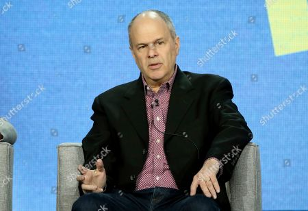 Michael Kantor participates in the American Masters Series 'Terrence McNally: Every Act of Life' panel during the PBS presentation at the Television Critics Association Winter Press Tour at The Langham Huntington, in Pasadena, Calif