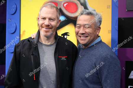 Stock Photo of Toby Emmerich and Kevin Tsujihara