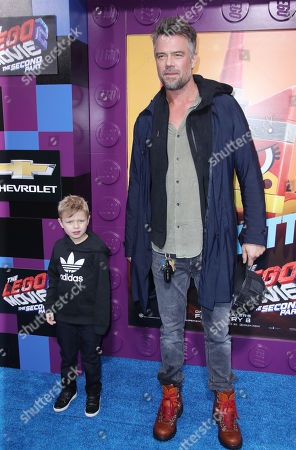 Stock Picture of Axl Duhamel and Josh Duhamel