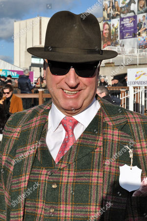 Stock Picture of , Leopardstown, Irland, Portrait of owner Rich Ricci at Leopardstown racecourse.