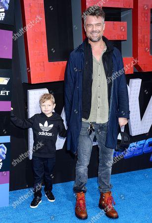 Josh Duhamel and son Axl Duhamel