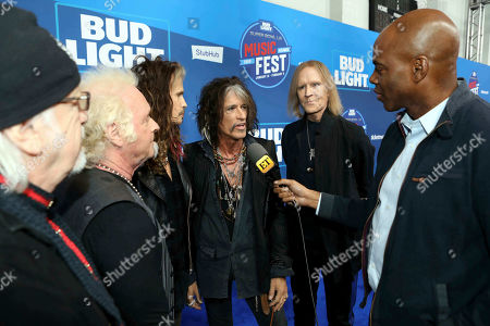 Editorial picture of Bud Light Super Bowl Music Fest ' Day 2 ' Arrivals, Atlanta, USA - 01 Feb 2019