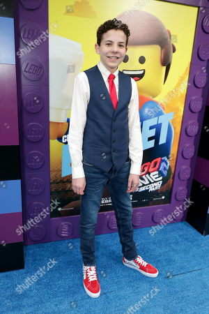 Editorial photo of Warner Bros. Pictures film premiere of 'The Lego Movie 2: The Second Part' at Regency Village Theatre, Los Angeles, USA - 02 Feb 2019