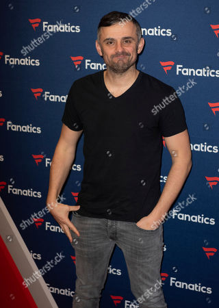 Gary Vaynerchuk arrives at the 2019 Fanatics Super Bowl Party, in Atlanta