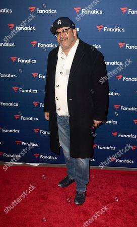 Michael Eric Dyson arrives at the 2019 Fanatics Super Bowl Party, in Atlanta