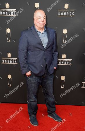 Israel Del Toro arrives at the 8th Annual NFL Honors at The Fox Theatre, in Atlanta