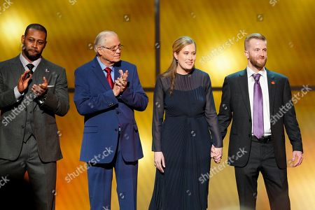 Ty Law, Johnny Robinson, Brittany Bowlen, Pat Bowlen. Ty Law, from left, Johnny Robinson, Brittany Bowlen and Pat Bowlen at the 8th Annual NFL Honors at The Fox Theatre, in Atlanta