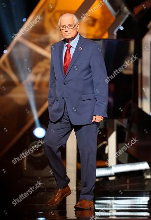 Former NFL player Johnny Robinson appears at the 8th Annual NFL Honors at The Fox Theatre, in Atlanta