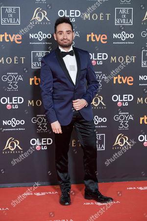 Editorial photo of 33rd Goya Awards, Sevilla, Spain - 02 Feb 2019