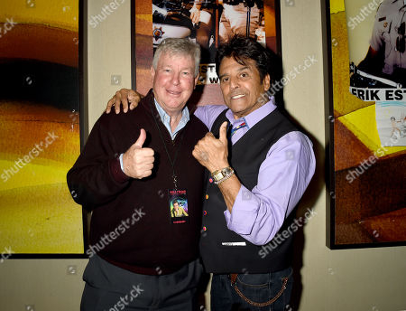 Stock Picture of Larry Wilcox and Erik Estrada