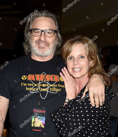 Stock Image of Robert Carradine and Julia Montgomery