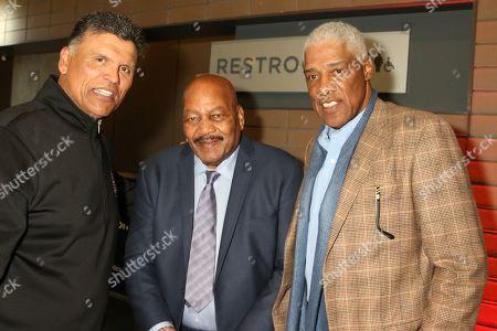 Anthony Munoz, Jim Brown and Julius Irving