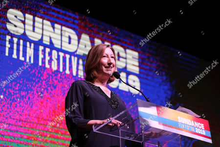 Sundance Film Festival Executive Director Keri Putnam opens the 2019 Sundance Film Festival awards ceremony in Park City, Utah, USA, 02 February 2019.