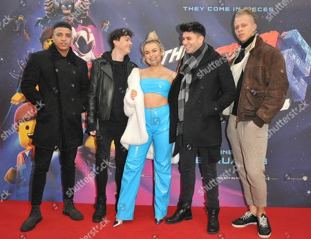 Josh Christie, Stevie Ruffs, Tallia Storm, Troy Cooke and Chris Jammer
