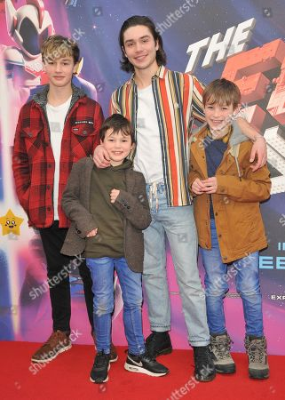 George Shelley and his 3 brothers