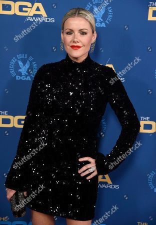 Kathleen Robertson arrives at the 71st annual DGA Awards at the Ray Dolby Ballroom, in Los Angeles