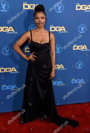 Keesha Sharp arrives at the 71st annual DGA Awards at the Ray Dolby Ballroom, in Los Angeles