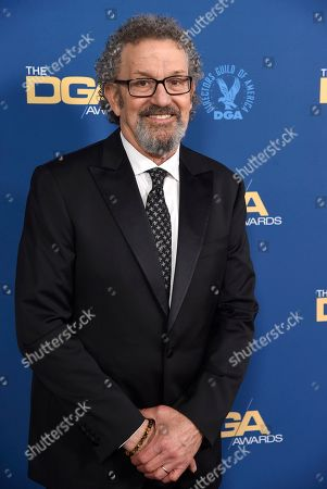 Thomas Schlamme arrives at the 71st annual DGA Awards at the Ray Dolby Ballroom, in Los Angeles