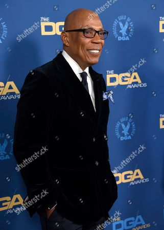 Paris Barclay arrives at the 71st annual DGA Awards at the Ray Dolby Ballroom, in Los Angeles