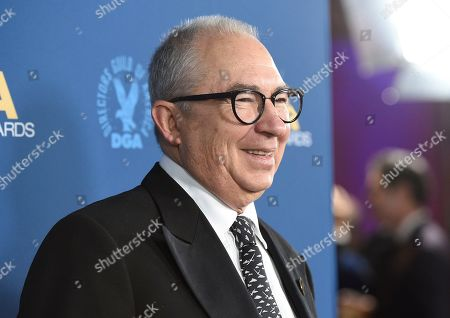 Barry Sonnenfeld arrives at the 71st annual DGA Awards at the Ray Dolby Ballroom, in Los Angeles