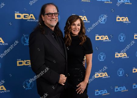 Glenn Weiss, Jan Svendsen. Glenn Weiss, left, and Jan Svendsen arrive at the 71st annual DGA Awards at the Ray Dolby Ballroom, in Los Angeles