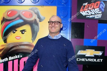 Mike Mitchell arrives for the premiere of Warner Bros. Pictures' 'The Lego Movie 2: The Second Part' at Regency Village Theater in Los Angeles, California, USA, 02 February 2019. The movie opens in the US on 08 February 2019.